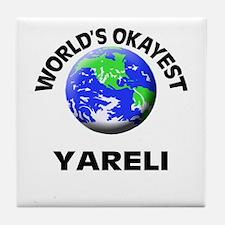 World's Okayest Yareli Tile Coaster