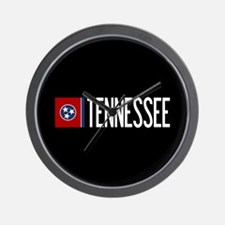 Tennessee: Tennessean Flag & Tennessee Wall Clock