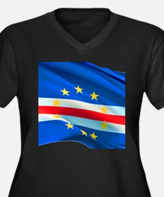 Cape Verde Flag Plus Size T-Shirt