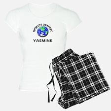 World's Okayest Yasmine pajamas