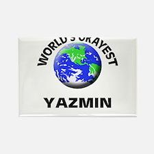 World's Okayest Yazmin Magnets