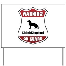 Shiloh On Guard Yard Sign