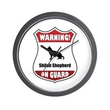 Shiloh On Guard Wall Clock