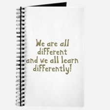 We're all Different Journal