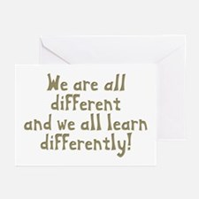 We're all Different Greeting Cards (Pk of 20)