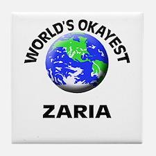 World's Okayest Zaria Tile Coaster