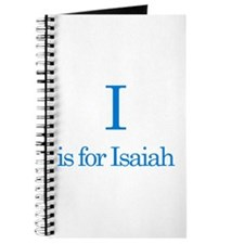 I is for Isaiah Journal