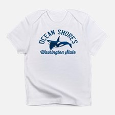 Ocean Shores - Washington. Infant T-Shirt