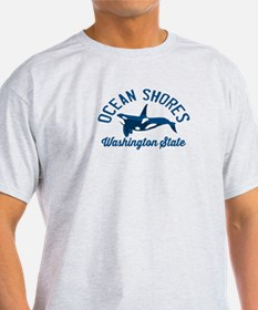 Ocean Shores - Washington. T-Shirt