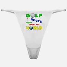 Golf Rocks Rogelio's World - Classic Thong