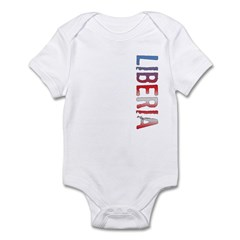 Liberia Stamp Infant Bodysuit