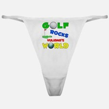 Golf Rocks Yuliana's World - Classic Thong