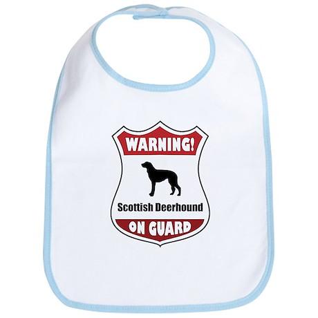 Deerhound On Guard Bib
