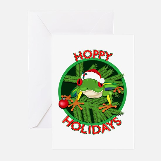 HoppyHolidays Greeting Cards (Pk of 10)