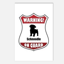 Schnoodle On Guard Postcards (Package of 8)