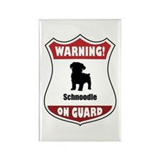 Schnoodle On Guard Rectangle Magnet (100 pack)