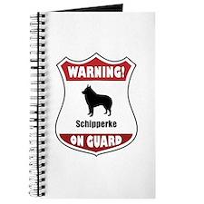 Schipperke On Guard Journal