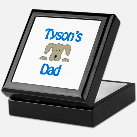 Tyson's Dad Keepsake Box