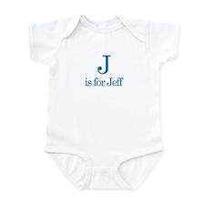 J is for Jeff Infant Bodysuit