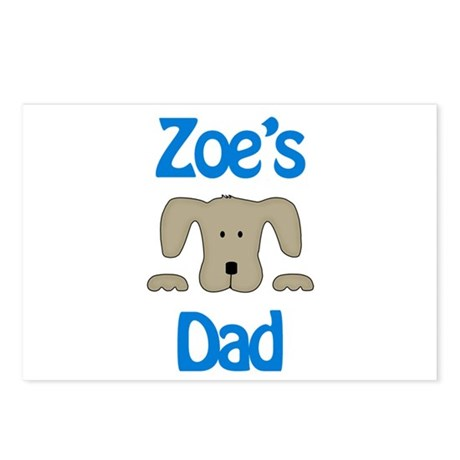 Zoe's Dad Postcards (Package of 8)