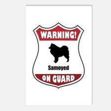 Samoyed On Guard Postcards (Package of 8)