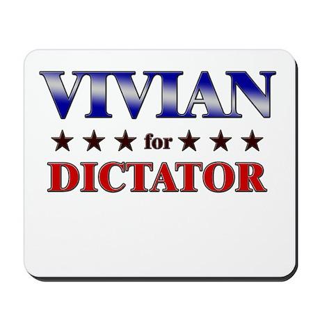 VIVIAN for dictator Mousepad