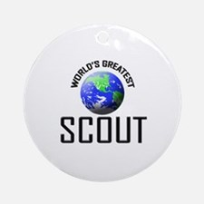 World's Greatest SCOUT Ornament (Round)
