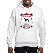 Rottweiler On Guard Hoodie