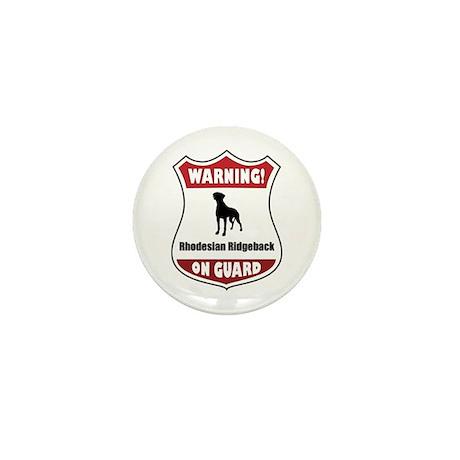 Ridgeback On Guard Mini Button (100 pack)