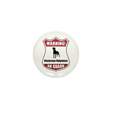 Ridgeback On Guard Mini Button (10 pack)