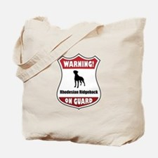 Ridgeback On Guard Tote Bag