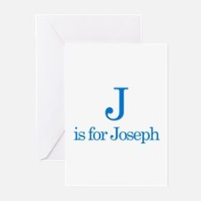 J is for Joseph Greeting Cards (Pk of 10)