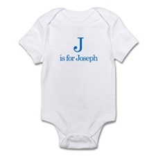 J is for Joseph Infant Bodysuit