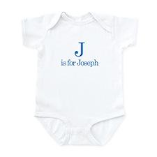 J is for Joseph Onesie