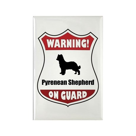 Pyrenean On Guard Rectangle Magnet
