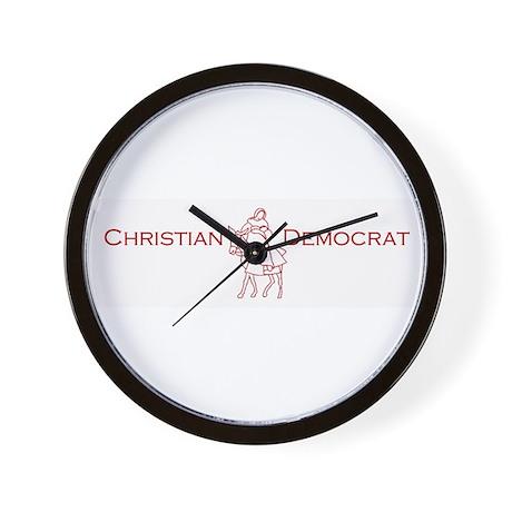 Christian Democrat Wall Clock