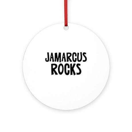 Jamarcus Rocks Ornament (Round)