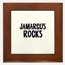 Jamarcus Rocks Framed Tile