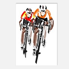 Unique Mountain biking Postcards (Package of 8)