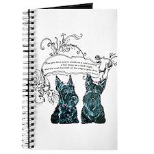 Scottish Terrier Proverb Journal