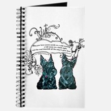 Scottish Terrier Proverb Journal