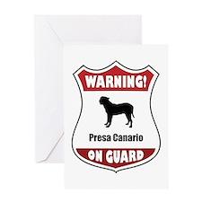 Presa On Guard Greeting Card
