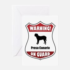 Presa On Guard Greeting Card