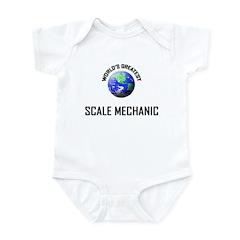 World's Greatest SCALE MECHANIC Infant Bodysuit
