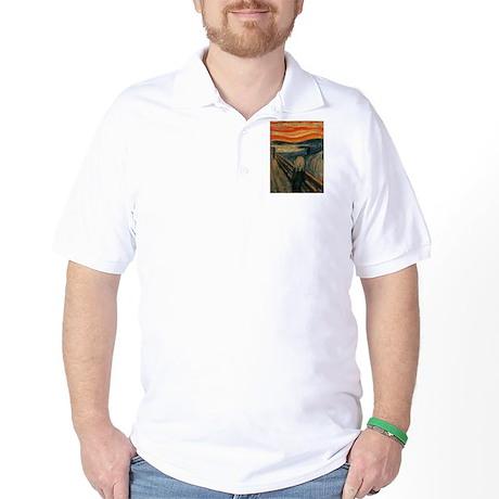 Munch's Scream Golf Shirt