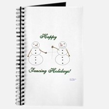 Fencing Holiday Journal