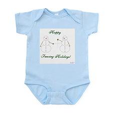 Fencing Holiday Infant Bodysuit