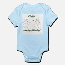 Fencing Holiday Infant Bodysuit