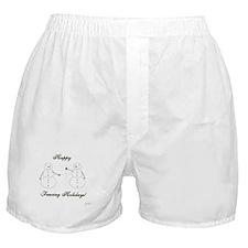 Fencing Holiday Boxer Shorts