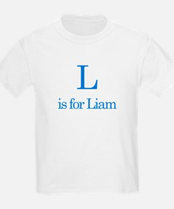 L is for Liam T-Shirt
